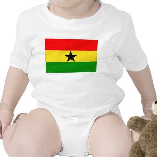 Ghana Flag Bodysuit