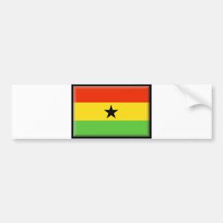 Ghana Flag Bumper Sticker