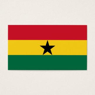 Ghana Flag Business Card