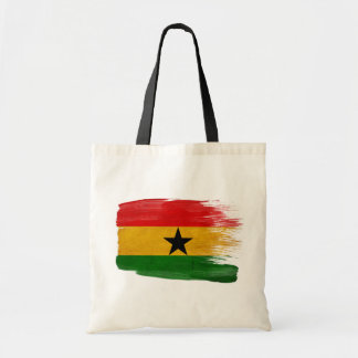 Ghana Flag Canvas Bags