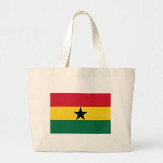 Ghana Flag GH Tote Bags