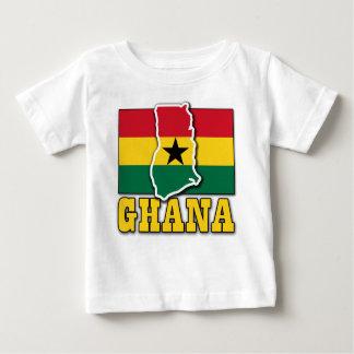 Ghana Flag Land Baby T-Shirt