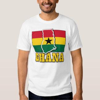 Ghana Flag Land T-shirt