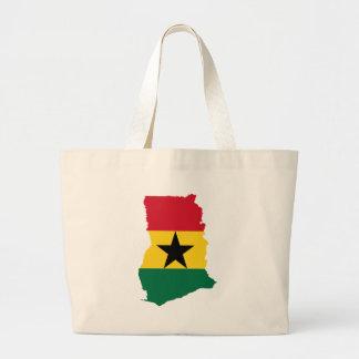 Ghana Flag Map GH Bags