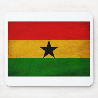 Ghana Flag Mouse Pad