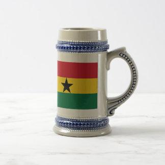 Ghana Flag 18 Oz Beer Stein