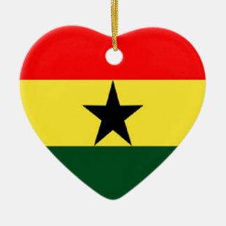 Ghana flag ornaments