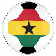 Ghana Flag Soccer Ball at Zazzle