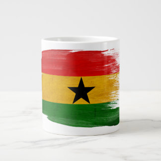 Ghana Flag 20 Oz Large Ceramic Coffee Mug