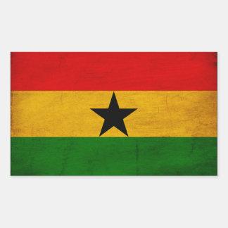 Ghana Flag Rectangular Stickers