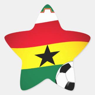 Ghana Football 1508 Star Sticker