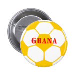Ghana football 2 inch round button