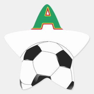 Ghana Football  4144 Star Sticker