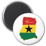 Ghana fresco imán para frigorifico