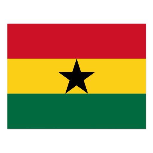 Ghana, Ghana Tarjeta Postal