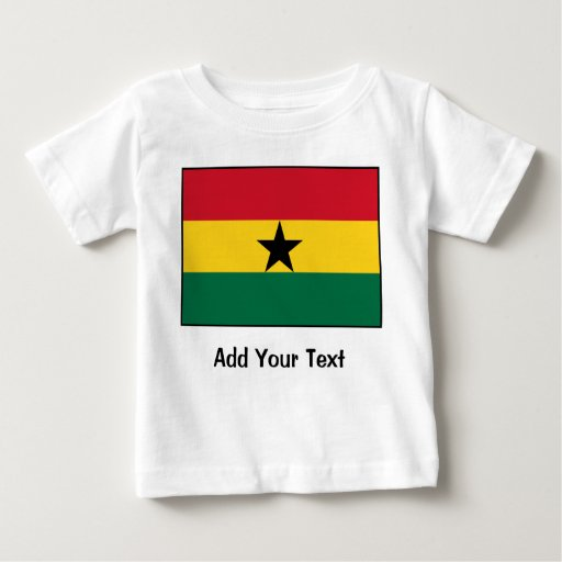 Ghana – Ghanaian Flag Baby T-Shirt