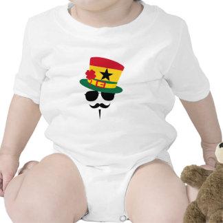 Ghana go Mustache Trajes De Bebé
