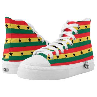 Ghana High-Top Sneakers