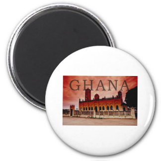 Ghana Imán Redondo 5 Cm