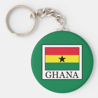 Ghana Llavero Redondo Tipo Pin