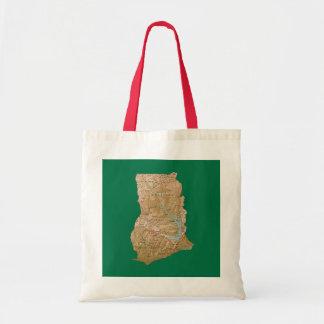 Ghana Map Bag