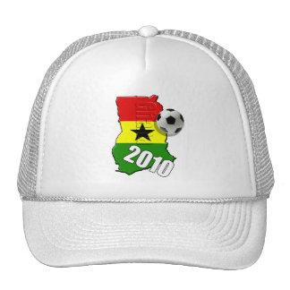 Ghana Map flag of Ghana soccer ball gifts Trucker Hat