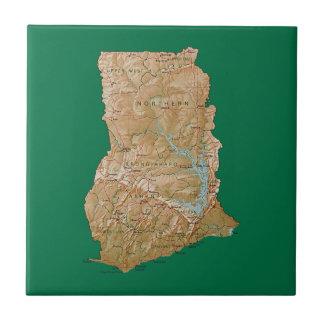 Ghana Map Tile