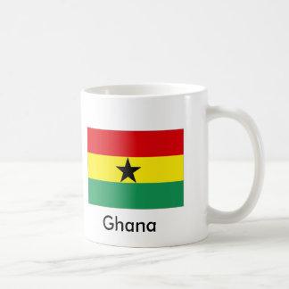 Ghana Classic White Coffee Mug