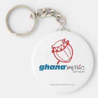 Ghana Music Key Chain