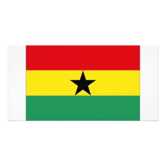 Ghana National Flag Photo Card