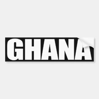Ghana Pegatina Para Auto