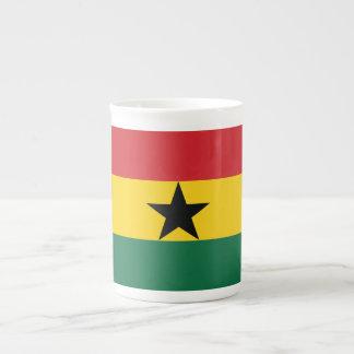 Ghana Plain Flag Tea Cup