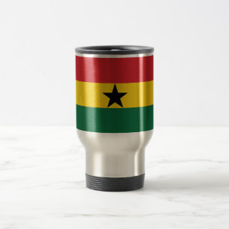 Ghana Plain Flag Travel Mug
