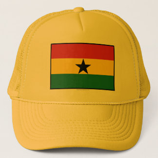 Ghana Plain Flag Trucker Hat
