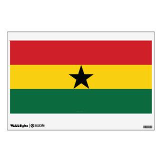 Ghana Plain Flag Wall Sticker