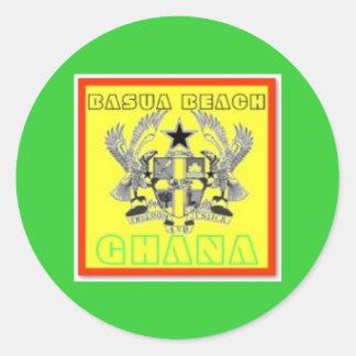 Ghana  Poster(Basua Beach) Stickers