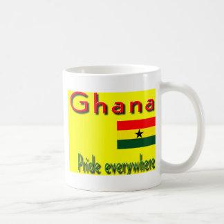 Ghana pride classic white coffee mug