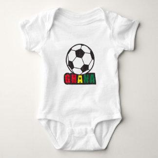 Ghana Soccer Baby Bodysuit