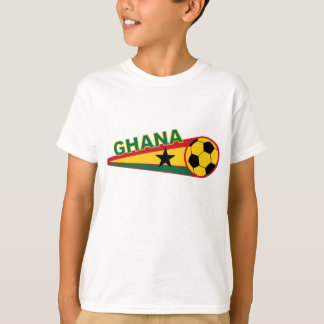 Ghana Soccer ball and flag design T-Shirt