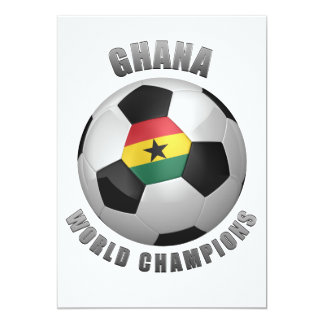 GHANA SOCCER CHAMPIONS CARD