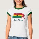 Ghana Soccer Flag shirt