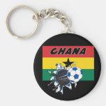 Ghana Soccer Futbol keychain