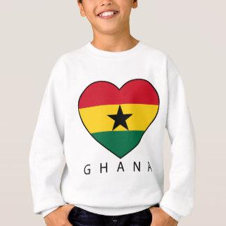 "Ghana Soccer Heart ""GHANA"" - corazón Sudadera"