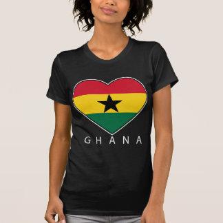 "Ghana Soccer Heart ""GHANA"" - heart T Shirts"