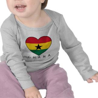 "Ghana Soccer Heart ""GHANA"" - heart Shirt"