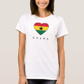 Ghana Soccer Heart Top shirt
