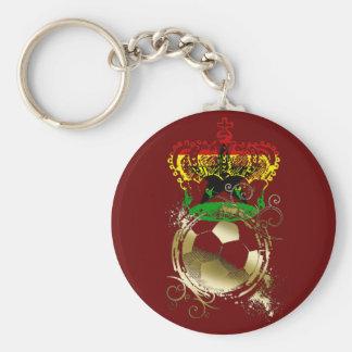 Ghana soccer kings Ashanti gifts Basic Round Button Keychain