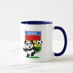 Combo Mug with Ghana Football Panda design
