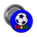 Ghana Soccer Pinback Buttons