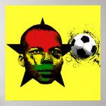 Ghana Soccer Posters